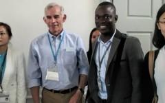 René Tapsoba, participant au 5e Lindau Nobel Meeting: «C'est tout simplement une expérience unique de vie»