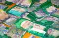 Billets de banque tachetés