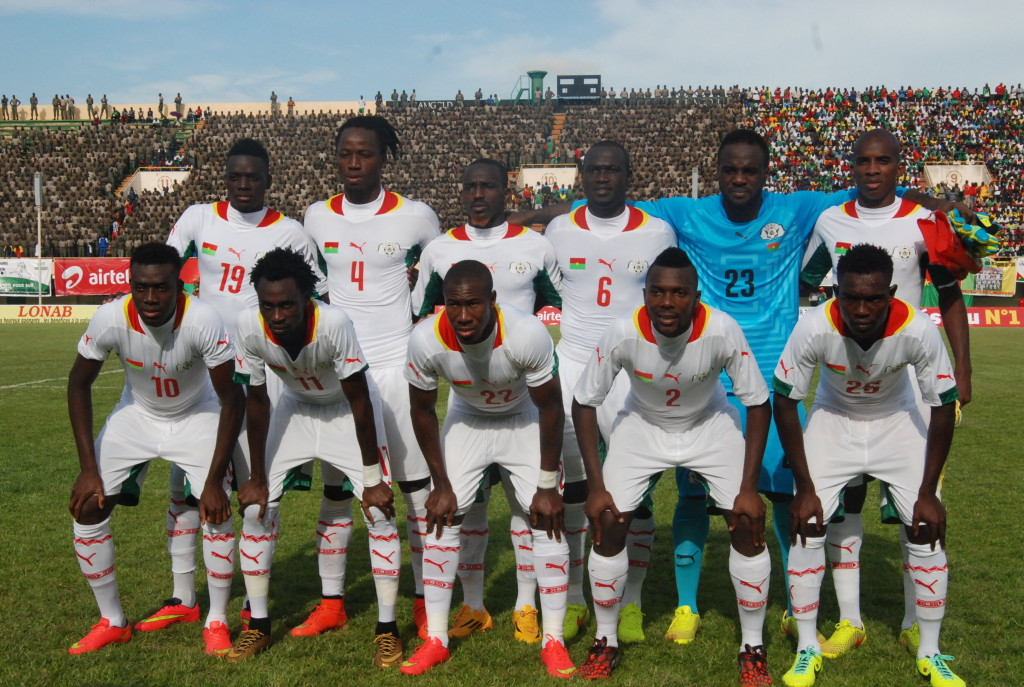 Etalons du Burkina contre Lesotho