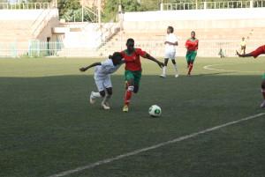 Dragons FC de Kaya en rouge a battu Avenir FC de Ouaga par 4 à 1