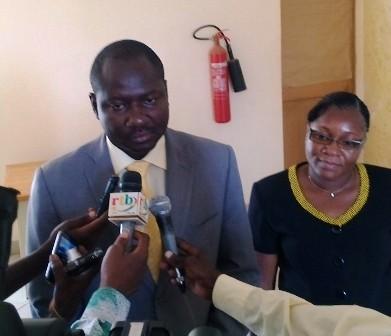 Le DG de la DGPC-AD, Martial Wilfried Bassolé  (© Burkina24)