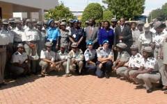 La police nationale prépare les policières au recrutement pour les missions de paix
