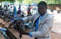 Prosper Nignan, photographe à l'université de Ouagadougou(©Burkina24)