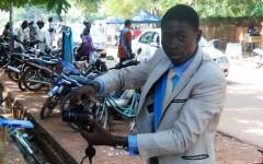 Pasteur, le photographe qui a su s'imposer à l'université de Ouagadougou