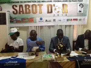Le comité d'organisation des Sabots d'or espère contribuer à rehausser le niveau du football burkinabè à travers ces récompenses