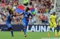 Bakary Koné (4) a ouvert le score pour l'OL face à Nantes lors de la 8ème journée