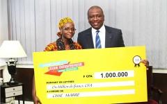 Côte d'Ivoire : Le ministre de l'intérieur promeut l'entrepreneuriat des Jeunes