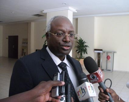 Le représentant du PNUD Burkina, Pascal Karorero (© Burkina24)