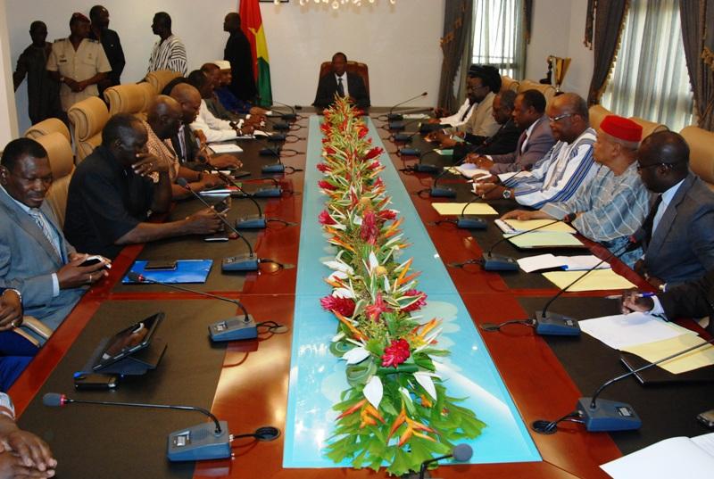 Premier  face à face entre l'opposition et la majorité (© Burkina 24)