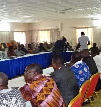 Les participants à l'atelier de Kombissiri du jeudi 16 octobre 2014. © Burkina 24