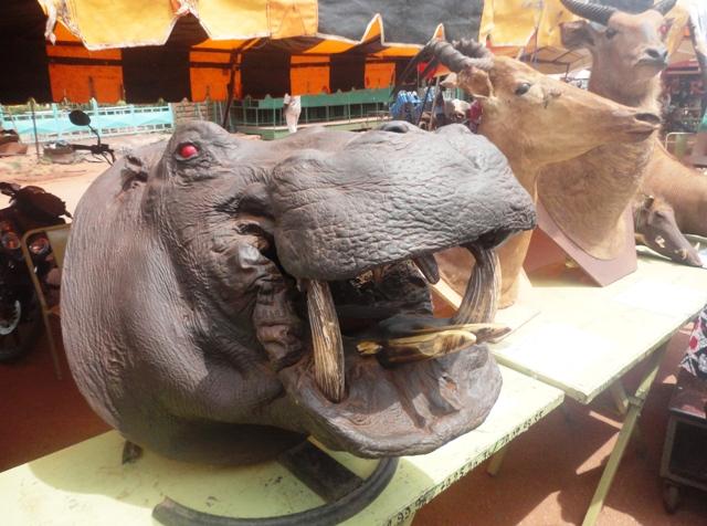 Exposition de Produits de l'armée burkinabè  (©Burkina24)
