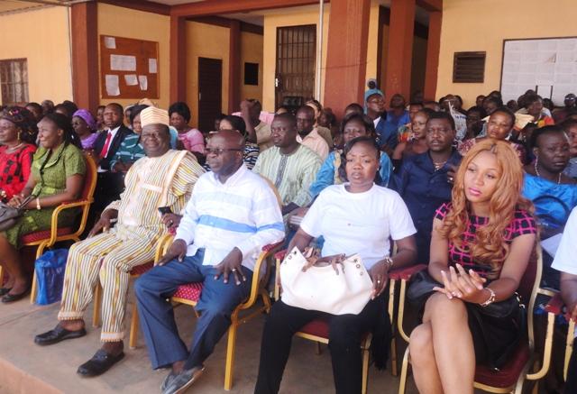 Plusieurs personnalités étaient présentes notamment l'ancien maire de la Commune de Ouagadougou (©Burkina24)