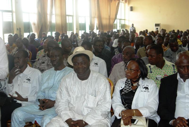 Le BPN de l'ADF/RDA a entériné la décision de soutenir la révision de l'article 37 (© Burkina 24)