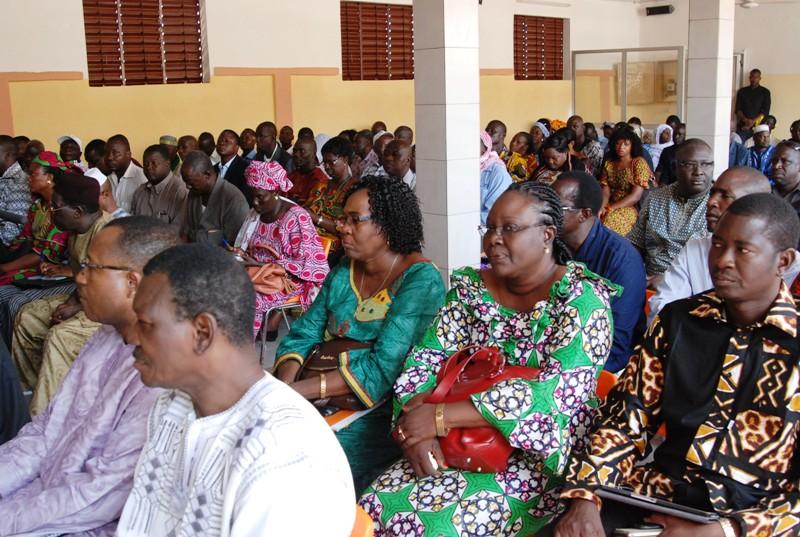 Les responsables des différentes structures du CDP lors de la rencontre (© Burkina 24)