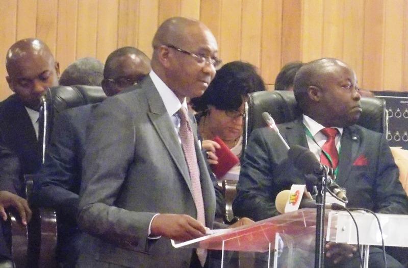 Cheikhe Hadjibou Soumaré, président de la commission de l'UEMOA