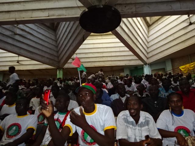 Les militants du Front lors du congrès (DR)