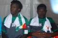 Entré en cours de jeu, Moussa Yedan à gauche (Issa Gouo à droite) a prouvé qu'il mérite mieux que 2 minutes de jeu.