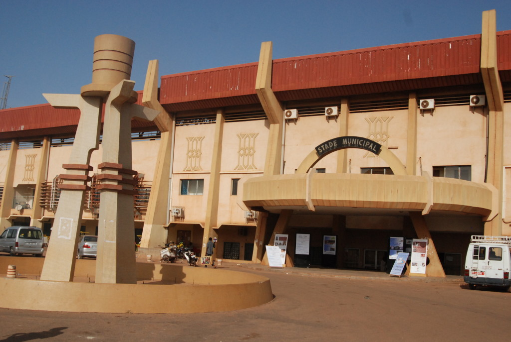 Stade Municipal de Ouagadougou - championnat du Burkina- Fasofoot
