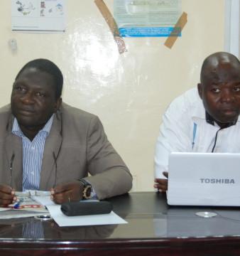 Alexis Konkobo et Victor Sanou