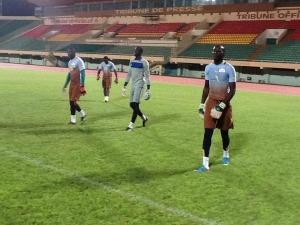 Parmi les quatre gardiens retenus Moussa Germain Sanou pourrait être le titulaire