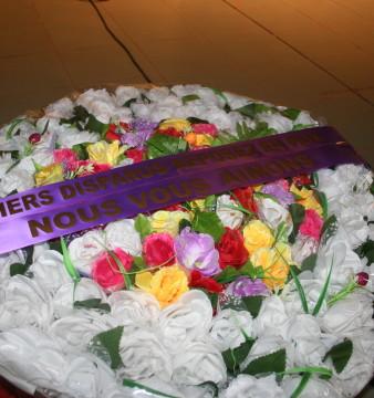 En mémoire des disparus du crash d'Air Algérie. Ph. Kambou Gabriel