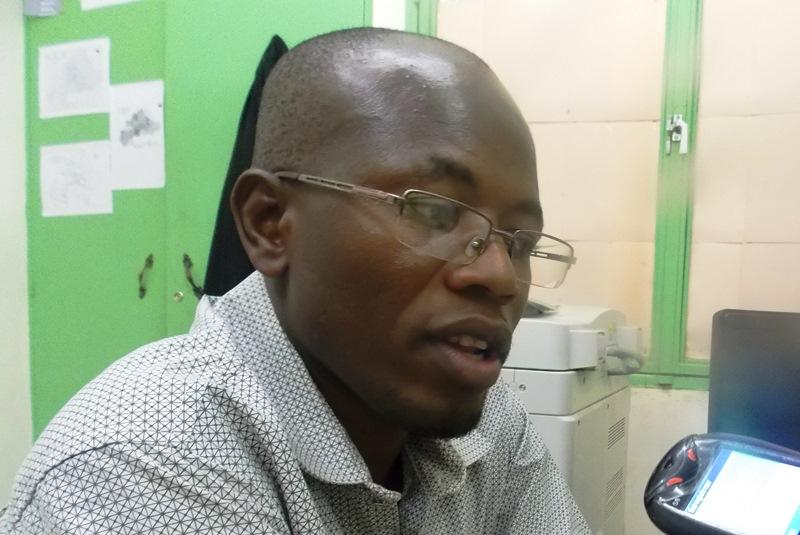 Me Kafando Abdoul Aziz, chargé de l'organisation au bureau national du syndicat des greffiers du Burkina