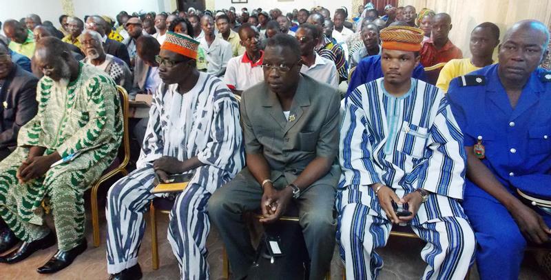 Militants de l'UPC et representants d'autres groupes, ont pris part à ces deuxièmes journées parlementaires de l'UPC (©Burkina24).jpg