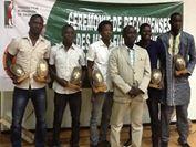 Le cinq majeurs hommes de la saison 2013-2014 du championnat de basketball burkinabè