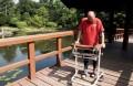 homme paralysé