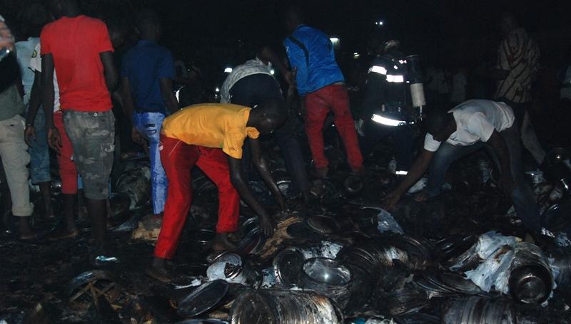 Des dégâts matériels importants (© Burkina 24)