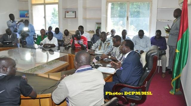 Le ministre Yacouba Ouédraogo a été claire avec les journalistes: l'édition 2014 n'aura pas lieu.