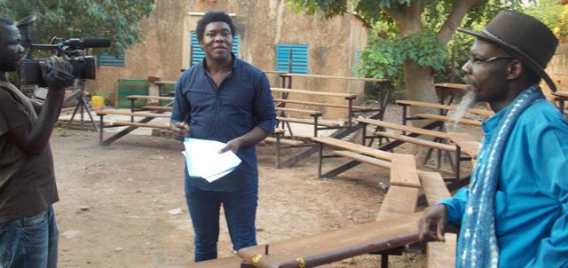 Etienne Minoungou (milieu) assure que toutes les mesures sécuritaires sont prises (© Burkina 24)