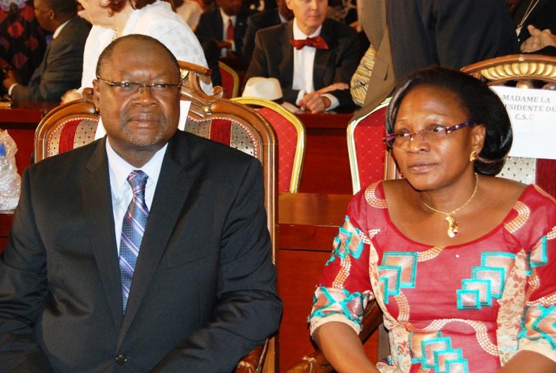 Ablassé Ouédraogo et Nathalie Somé, présidente du CSC (© Burkina24)