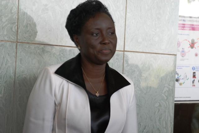 Nicole Angéline ZAN/YELEMOU, ministre de l'action sociale