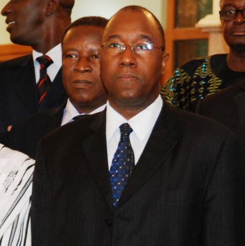 Boubacar Ba, ministre des mines