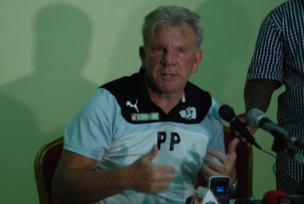 Paul Put l'entraîneur des Etalons a critiqué l'arbitrage