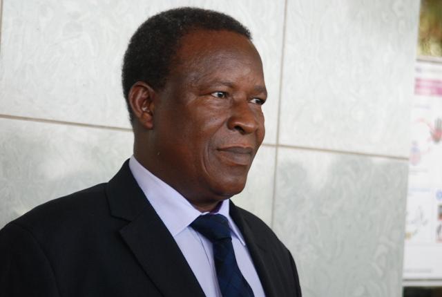 Filiga Michel Sawadogo, ministre des Enseignement secondaire et supérieur