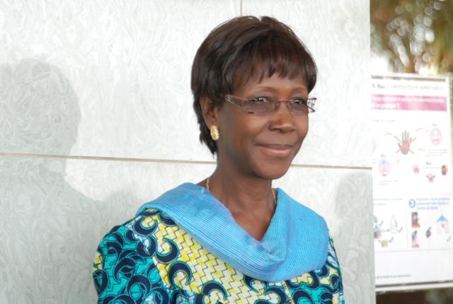 Joséphine Ouédraogo, ministre de la Justice