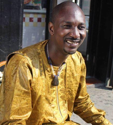 Kaboré, membre du Collectif Tékré