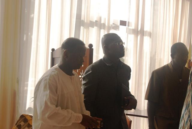 Alain Yoda (CDP) et Zacharia Tiemtoré (ADF/RDA) présents pour participer à la rencontre de haut niveau (© Burkina 24)