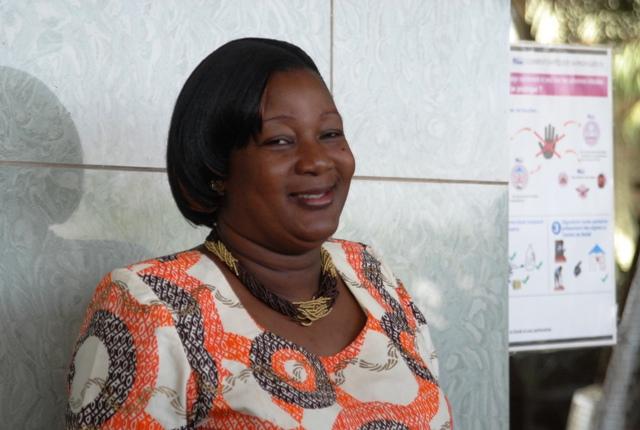 Bibiane OUEDRAOGO/BONI, ministre de la promotion de la femme