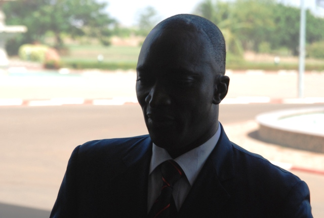 Salifou Dembélé, ministre de la jeunesse
