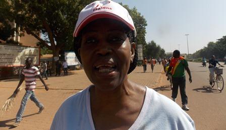 Tamboura née Diawarra Aicha, directrice de l'ISTIC est surtout redonner un autre visage à la ville (© Burkina 24)