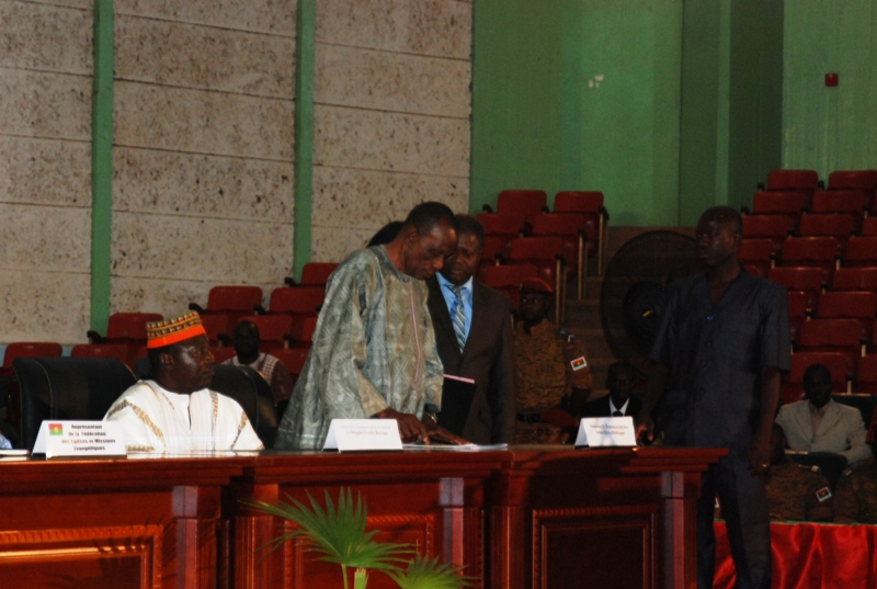 """Le représentant des """"autres partis politiques"""", Amadou Dabo"""
