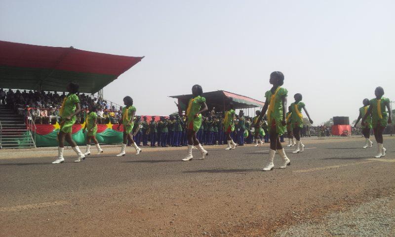 Les majorettes de Ouagadougou