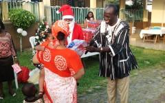Consulat général du Burkina à Abidjan : Le père Noël est passé le 20 décembre