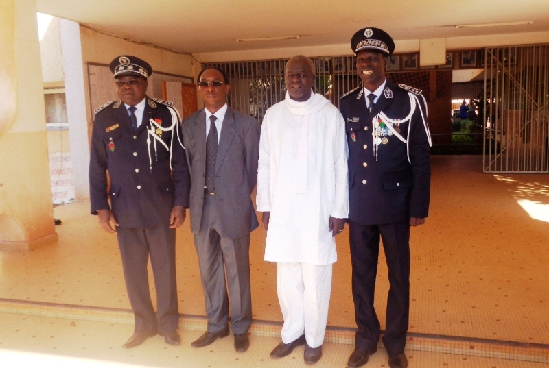 De droite à Gauche, Lazare Tarpaga, Sheriff Sy, Auguste Barry et Roger Zango (©Burkina24)