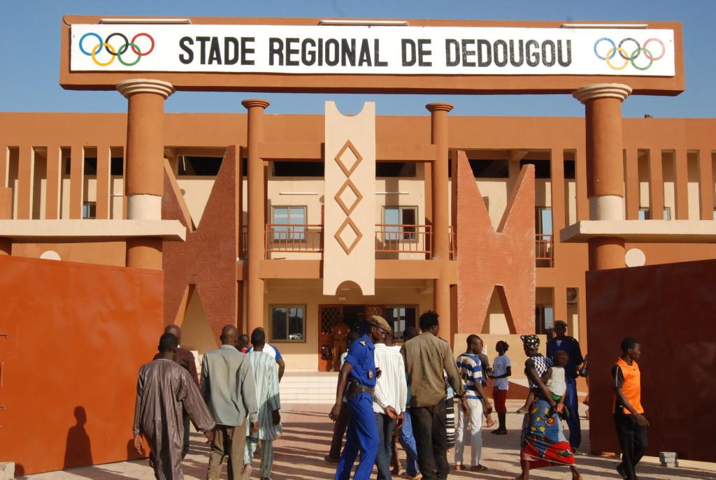 Le Stade regional de Dedougou est desormais prêt à accueillir les matchs de D1 du championnat