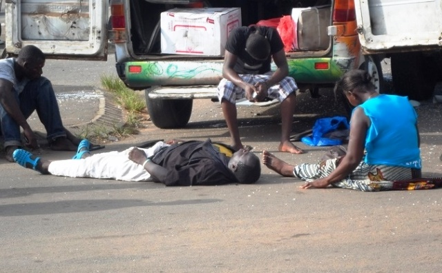 Aperçu de personnes désespérées suite à un accident grave de la circulation (Photo : ©DR)