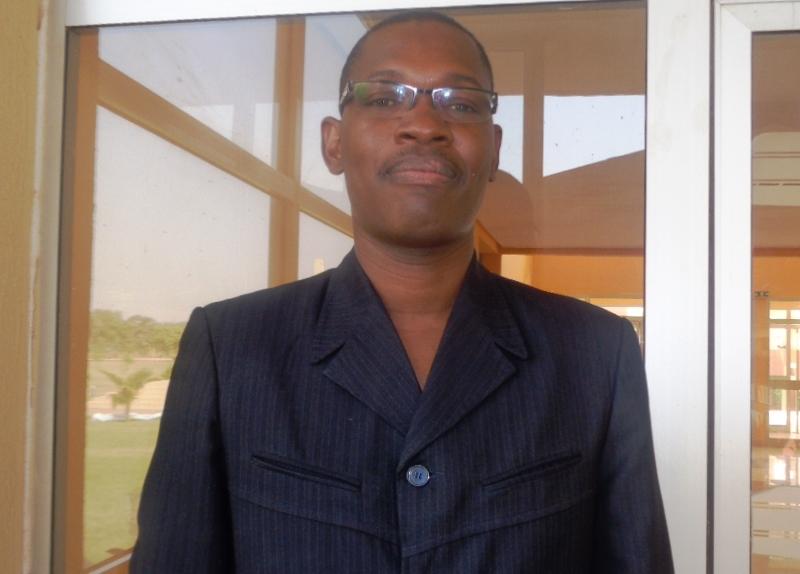 Lucien Ouédraogo, chargée de programme à l'ONG Diakonia